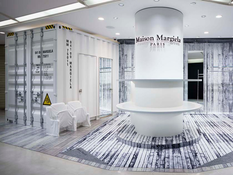 osaka: maison margiela shop-in-shop relocation