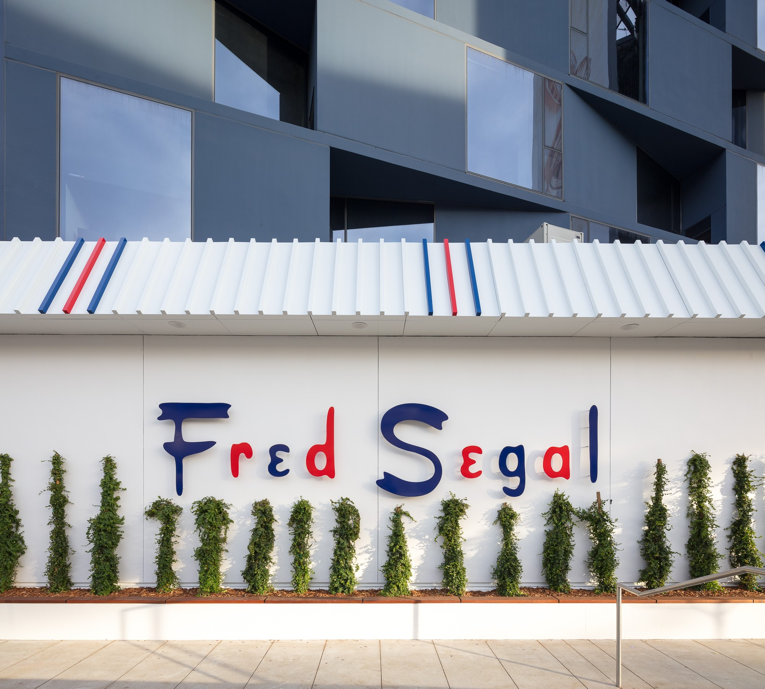 los angeles: fred segal store opening