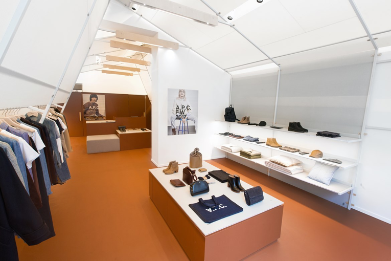 oslo: a.p.c. store opening