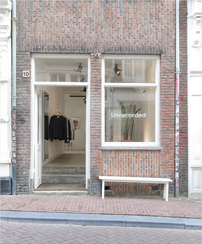 amsterdam: unrecorded. store opening