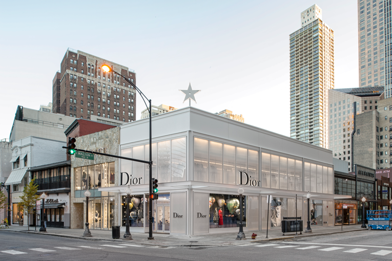chicago: dior store opening